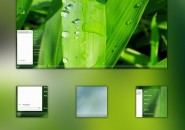 Natural updated theme for windows 7