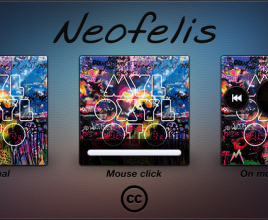 Neofelis Active Colours Windows 7 Rainmeter Theme