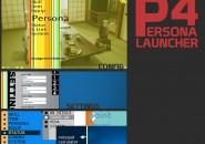 P 4 Ersona Launcher Windows 7 Rainmeter Theme