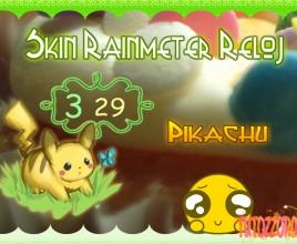 Pikachu Windows 7 Rainmeter Skin