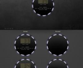 Power Plant Rainmeter Skin For Windows 7