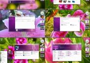 Purple dream theme for windows 7