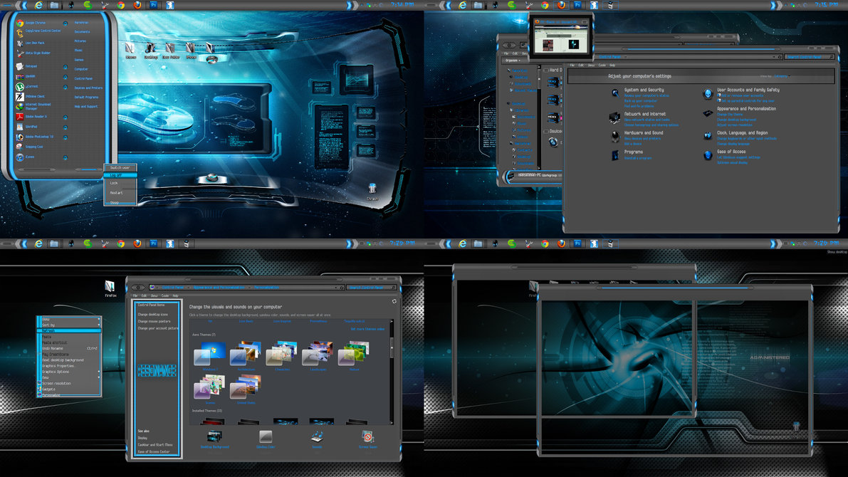 Resonance update theme for windows 7