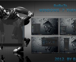 Robots theme for windows 7