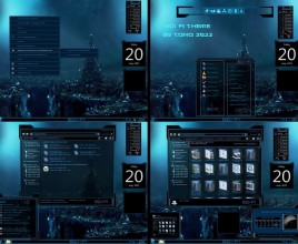 Science fiction theme for windows 7