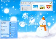 Seffy Winter Windows Blind Theme