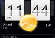 Sense Clock Mode Rainmeter Theme For Windows 7