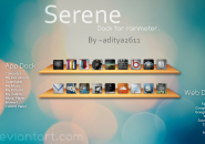 Serenity World Rainmeter Theme For Windows 7