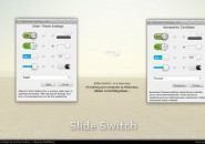 Slide Switch Parched Rainmeter Theme For Windows 7