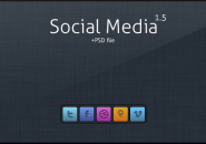Social Media Rainmeter Theme For Windows 7