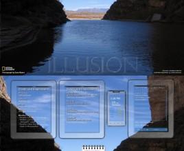 Spectre Illusion Windows 7 Rainmeter Skin