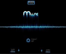 Spectrum Mux Rainmeter Skin For windows 7