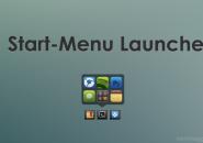 Start Menu Launcher Rainmeter Theme