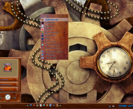 Steam punk theme for windows 7