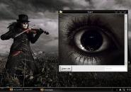 Svart VS Windows Blind Theme
