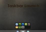 Taskbar Launch Rainmeter Theme