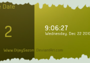 Time Date Rainmeter Skin
