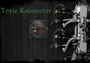 Toxic Clocky Rainmeter Skin