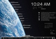 View From The Star Rainmeter Theme