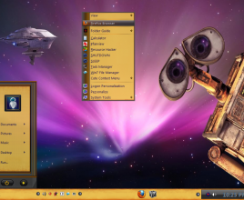 Wall e theme for windows 7