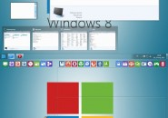 Windows 8 aero metro style theme for windows 7