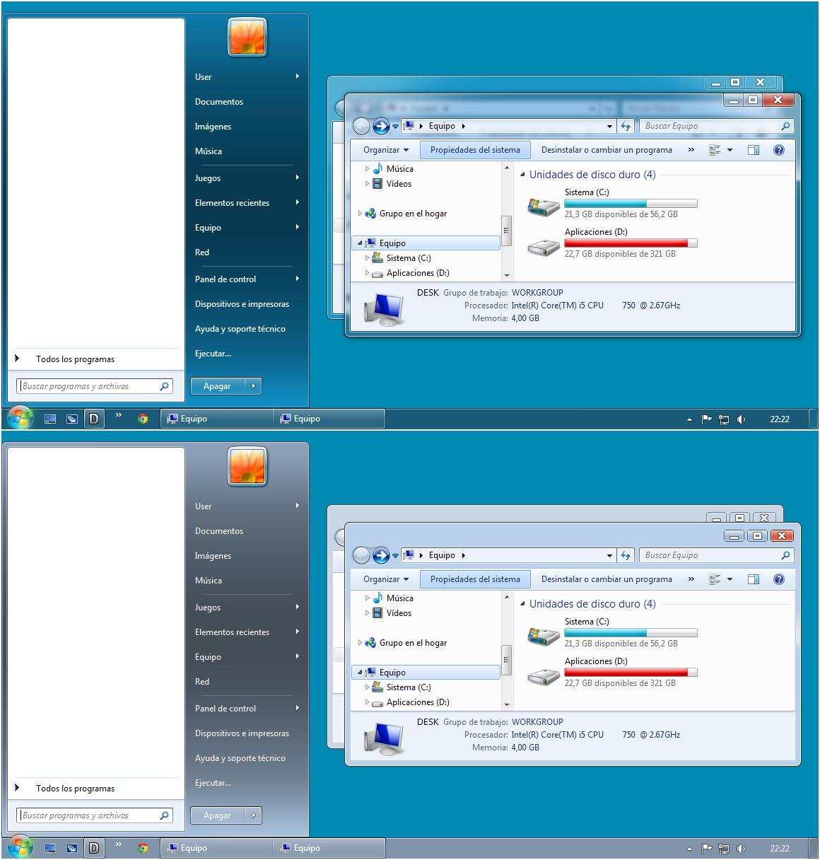 Windows Aero 7.3 Visual Style
