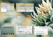 minimal taste flat themepack for windows 7