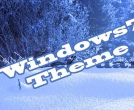 winter theme for windows 7