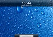 Apple Lockscreen Screensaver