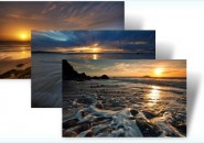 Beach sunset themepack for windows 7