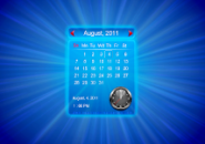 Calendar Abstractions Screensaver