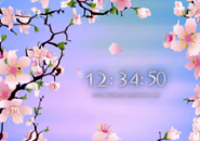 Cherry Tree Screensaver