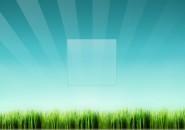 Grass Blades Spiked Logon Screen