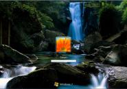 HD Falls Windows 7 Logon Screen