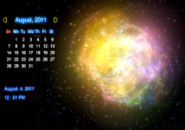 Illusion Calendar Screensaver