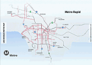 Los Angeles Metro Map Screensaver