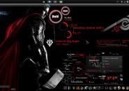 Project Avengers (Thor) Rainmeter Skins