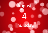 Red Drop Calendar Screensaver