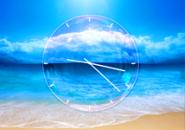 Sea Clock3 Screensaver