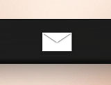 Simple Email Icon rainmeter skin