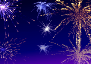 Sky Fireworks Screensaver