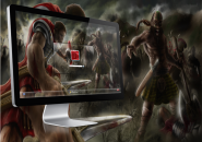 Sweat And Blood Logon Screen For Windows 7