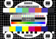 Test Card TV Screensaver