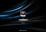 Ultima Black Logon Screen For Windows 7