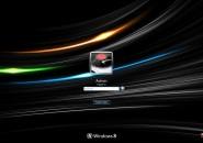 Ultimate Black Logon Screen For Windows 7
