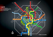 Washington Metro Screensaver