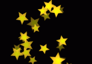 Yellow Stars Screensaver