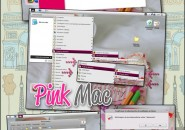pink mac theme for windows 7