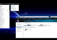 Black On Blue Windows 7 Visual Styles