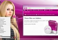 Hula Pink Windows 7 Visual Styles